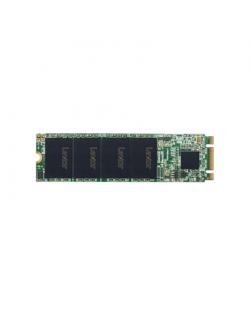 Lexar LNM100 128 GB, SSD form factor M.2 2280, SSD interface SATA III, Write speed 520 MB/s, Read speed 550 MB/s