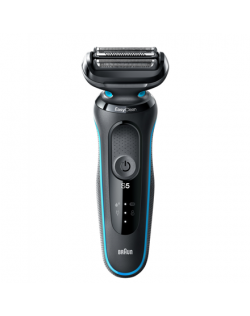Braun Shaver 50-M4500cs Cordless, Charging time 1 h, Lithium Ion, Number of shaver heads/blades 3, Black/Mint, Wet & Dry