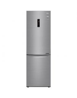 LG Refrigerator GBB71PZDMN A++, Free standing, Combi, Height 186 cm, No Frost system, Fridge net capacity 234 L, Freezer net cap