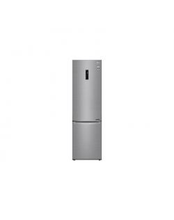 LG Refrigerator GBB72PZDMN A++, Free standing, Combi, Height 203 cm, No Frost system, Fridge net capacity 233 L, Freezer net cap