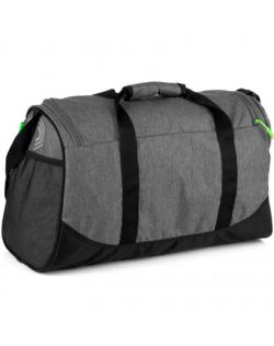 Spokey PIRX Sports bag, 35 litres, Comfortable handles and shoulder strap, Grey, Waterproof polyester
