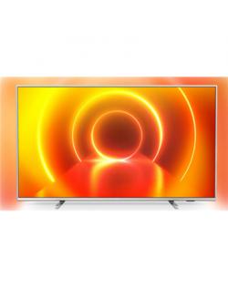 "Philips 55PUS7855/12 55"" (139 cm), Smart TV, Saphi, 4K UHD, 3840 x 2160 pixels, Wi-Fi, DVB-T/T2/T2-HD/C/S/S2, Light-silver"
