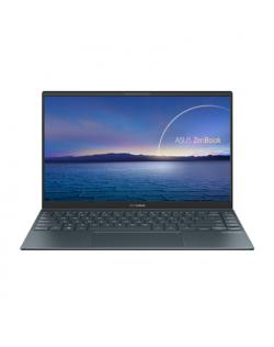 "Asus ZenBook UX425JA-HM262T Pine Grey, 14.0 "", IPS, FHD, 1920 x 1080 pixels, Matt, Intel Core i5, i5-1035G1, 8 GB, LPDDR4X on board, SSD 256 GB, Intel UHD, No ODD, Windows 10 Home, 802.11ax, Bluetooth version 5.0, Keyboard language English, Keyboard backlit, Warranty 24 month(s), Battery warranty 12 month(s)"