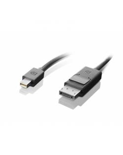 Lenovo mini-DisplayPort to DisplayPort Black, Cable, 2 m