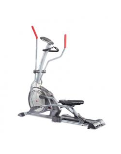 WNQ F1-7618B Semi-Commercial Elliptical Bike, 130 kg, Silver Grey, LCD display
