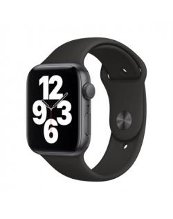 Apple SE GPS Smart watch, GPS (satellite), LTPO OLED Retina, Touchscreen, Heart rate monitor, Waterproof, Bluetooth, Wi-Fi, Blac