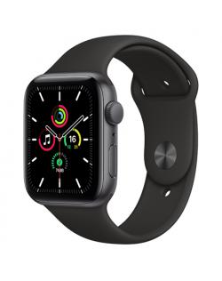 Apple SE GPS Smart watch, GPS (satellite), LTPO OLED Retina, Touchscreen, Heart rate monitor, Waterproof, Bluetooth, Wi-Fi, Gray