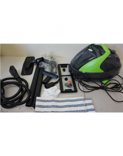 SALE OUT. Polti Steam Cleaner PTEU0280 Vaporetto Pro 95 Turbo Flexi Corded, 1100 W, Black/Green, DEMO,MISSING 1PSC.ANTICARCARE A