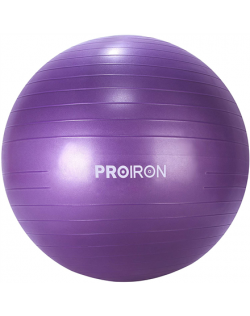 PROIRON Exercise Yoga Ball Balance Ball, Diameter: 65 cm, Thickness: 2 mm, Purple, PVC
