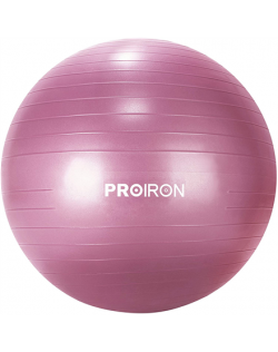 PROIRON Exercise Yoga Ball Balance Ball, Diameter: 65 cm, Thickness: 2 mm, Red, PVC