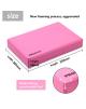 PROIRON Yoga Block Exercise Brick, 305 x 205 x 50 mm, 1 pc, Pink, High-density EVA foam