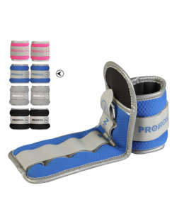 PROIRON Ankle Weight Set Weight Bands, 29.5 x 10 cm, 2 x 1 kg, Blue