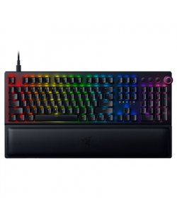 Razer BlackWidow V3 Pro Mechanical Gaming, RGB LED light, US, Black, Wired and Wireless