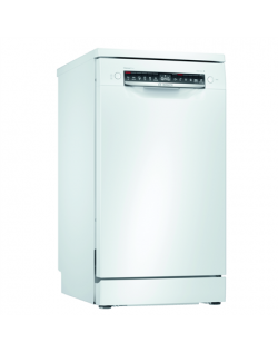Bosch Dishwasher SPS4HMW61E Free standing, Width 45 cm, Number of place settings 10, Number of programs 6, E, Display, AquaStop function, White