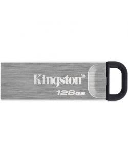 Kingston USB Flash Drive DataTraveler Kyson 128 GB, USB 3.2 Gen 1, Black/Grey
