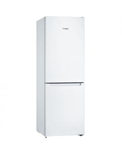 Bosch Serie 2 Refrigerator KGN33NWEB E, Free standing, Combi, Height 176 cm, No Frost system, Fridge net capacity 193 L, Freezer