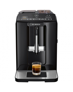 Bosch Coffee Maker TIS30129RW VeroCup 100 Pump pressure 15 bar, Built-in milk frother, Fully Automatic, 1300 W, Black