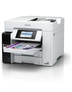 Epson Multifunctional Printer EcoTank L6580 Colour, Inkjet, A4, Wi-Fi, Light Grey