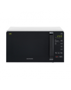Winia Microwave oven with Grill KQG-663BW Free standing, 700 W, Grill, Silver/Black