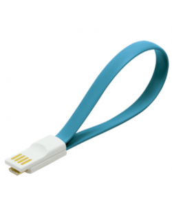 CU0085 USB Cable, magnetic, AM to Micro BM, blue Logilink