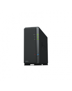 Synology Tower NAS DS118 up to 1 HDD/SSD Hot-Swap, Realtek RTD1296 Quad Core, Processor frequency 1.4 GHz, 1 GB, DDR4, 1x1GbE, 2