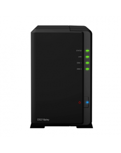 Synology Tower NAS DS218play up to 2 HDD/SSD Hot-Swap, Realtek RTD1296 Quad Core, Processor frequency 1.4 GHz, 1 GB, DDR4, RAID