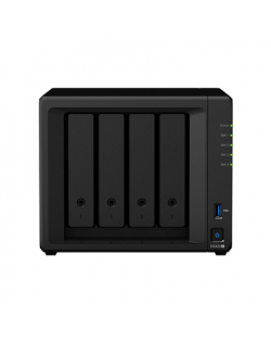 Synology Tower NAS DS420+ up to 4 HDD/SSD Hot-Swap, Intel Celeron Dual Core, Processor frequency 2 GHz, 2 GB, DDR4, 2xM.2 NVMe s