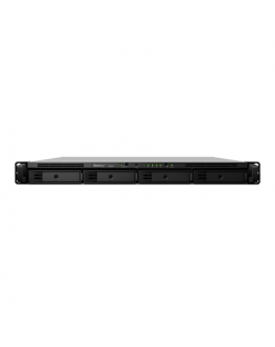 Synology Rack NAS RS820+ up to 4 HDD/SSD Hot-Swap, Intel Atom C3538 Quad Core, Processor frequency 2.1 GHz, 2 GB, DDR4, Redundan