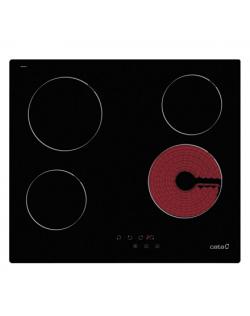 CATA Hob TN 604/A Vitroceramic, Number of burners/cooking zones 4, Black, Display,