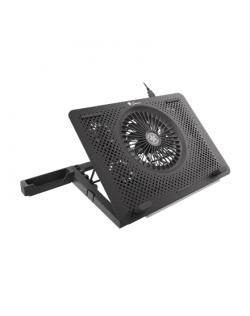 Genesis Laptop Cooling Pad OXID 450 Black, 400 x 280 x 55 mm
