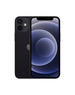 """Apple iPhone 12 mini Black, 5.4 """", XDR OLED, 2340 x 1080 pixels, Apple A14 Bionic, Internal RAM 4 GB, 64 GB, Single SIM, Nano-SI"""