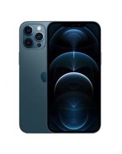 "Apple iPhone 12 Pro Max Pacific Blue, 6.7 "", Super Retina XDR, 2778 x 1284 pixels, Internal RAM 6 GB, 256 GB, Dual SIM, Nano-SIM and eSIM, 3G, 4G, 5G, Main camera Triple 12+12+12 MP, Secondary camera 12 MP, iOS, 14, 3687 mAh"