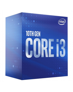 Intel i3-10100F, 3.6 GHz, LGA1200, Processor threads 8, Packing Retail, Processor cores 4, Component for Desktop