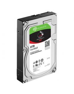 "Seagate NAS HDD IronWolf 8TB ST8000VN004 7200 RPM, 3.5 "", 8000 GB, SATA, 256 MB"