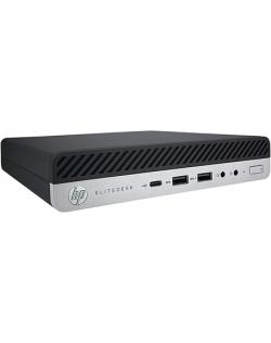 HP EliteDesk 800 G3 Mini Desktop PC, Intel Core i5, i5-7500T, Internal memory 8 GB, DDR4, SSD 256 GB, Intel HD Graphics 630, Windows 10 Pro, Warranty 24 month(s)