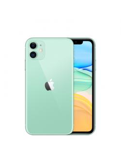 "Apple iPhone 11 Green, 6.1 "", IPS LCD, 828 x 1792 pixels, Hexa-core, Internal RAM 4 GB, 64 GB, Single SIM, Nano-SIM and eSIM, 3G"