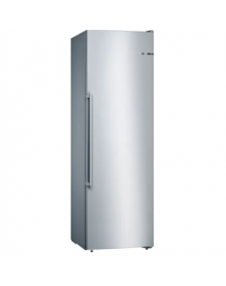 Bosch Freezer GSN36AIDP A+++, Free standing, Upright, Height 186 cm, No Frost system, 38 dB, Stainless steel
