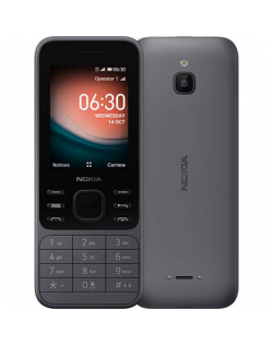 "Nokia 6300 4G Charcoal, 2.4 "", TFT, 240 x 320 pixels, 512 MB, 4000 MB, Dual SIM, Nano-SIM, 3G, Bluetooth, USB version microUSB,"