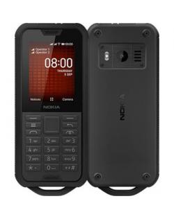 "Nokia 800 Black, 2.4 "", TFT, 240 x 320 pixels, 512 MB, 4000 MB, Dual SIM, Nano-SIM, 3G, Bluetooth, 4.1, USB version microUSB 2.0"