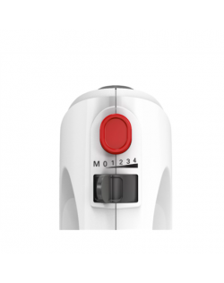 Bosch MFQ2600G Mixer with bowl, 375 W, Number of speeds 4, Blade material Stainless steel, White