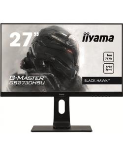 "Iiyama Gaming Monitor GB2760QSU-B1 C 27 "", TN, 2560 x 1440 pixels, 16:9, 1 ms, 350 cd/m², Built-in speaker(s), Black matte, HDCP Headphone connector, Warranty 36 month(s)"