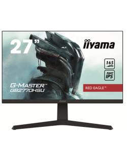 "Iiyama Gaming Monitor GB2770HSU-B1 27 "", IPS, 1920 x 1080 pixels, 16:9, 0.8 ms, 250 cd/m², HDCP, Headphone connector, Warranty 36 month(s)"