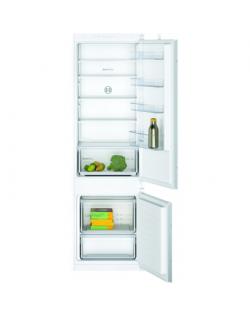 Bosch Serie 2 Refrigerator KIV87NSF0 F, Built-in, Combi, Height 177 cm, Fridge net capacity 200 L, Freezer net capacity 70 L, 39