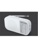 Muse M-025 RW, Portable radio, White