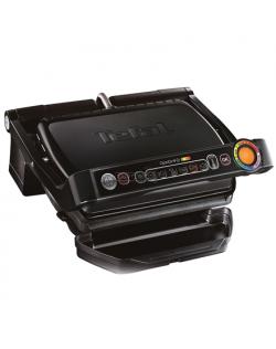 TEFAL OptiGrill+ GC712834 Contact grill, 2000 W, Black