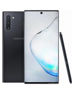 "Samsung Galaxy Note 10 N970F Aura Black, 6.3 "", Dynamic AMOLED, 1080 x 2280 pixels, Internal RAM 8 GB, 256 GB, Dual SIM, 4G, Main camera 16-12+12 MP, Secondary camera 10 MP, Android, 9.0, 3500 mAh"