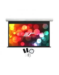 """Elite Screens Saker Series SK110XHW-E12 Diagonal 110 """", 16:10, Viewable screen width (W) 244 cm, White"""