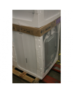 SALE OUT. LG Washing Machine F4WN207S3E A+++ -30%, Front loading, Washing capacity 7 kg, 1400 RPM, Depth 56 cm, Width 60 cm, Display, LED, Steam function, White, DAMAGED PACKAGING FOAM, DENT ON BACK CORNER