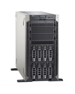 "Dell Server PowerEdge T340 Xeon E-2224/No RAM/No HDD/8x2.5"" (Hot-Plug)/PERC H330/iDrac9, Basic/1x495W PSU/No OS/3Y Basic NBD OnSite"