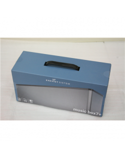 SALE OUT. Energy Sistem Music Box 7+ Bluetooth speaker, USED AS DEMO Energy Sistem Music Box 7+ Bluetooth Speaker 20 W, Portable